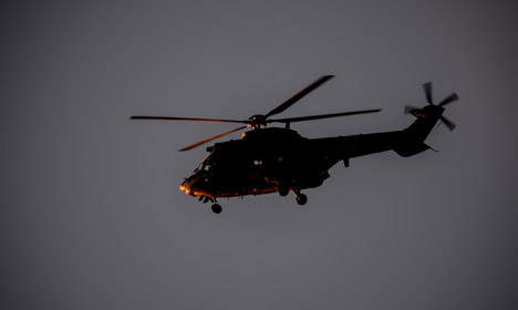 Danish cops nab arsonist after helicopter chase