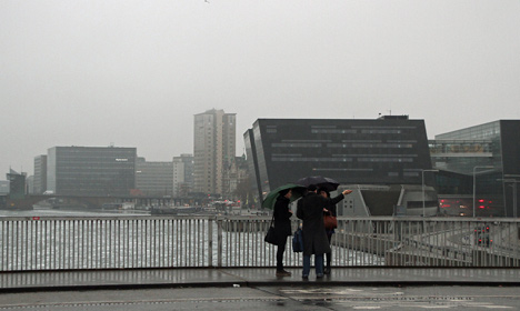 Wet week in Denmark could end with snow