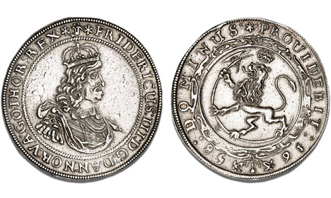Rare Danish coin fetches record sum at auction