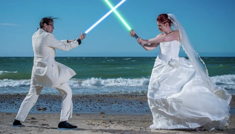 Danish fans married to Star Wars theme