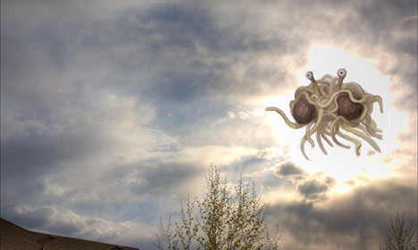 Church of the Flying Spaghetti Monster comes to Denmark