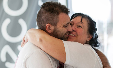 These Danes just set a world record for the longest hug