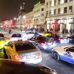 Copenhagen cab drivers stop traffic to protest Uber