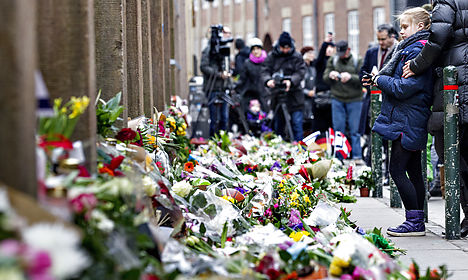 Four charged with terror over Copenhagen attack