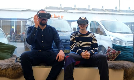 World's first virtual reality store opens in Copenhagen