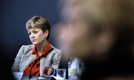 Danish minister resigns, ending government crisis