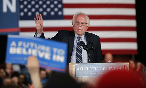 US expats in Denmark tell Sanders the feeling is mutual
