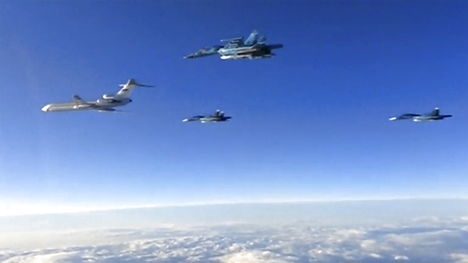 Russians less active in Danish airspace