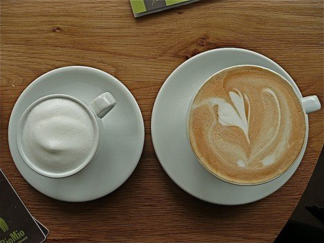 If you can live without the fancy latte design, there are cheaper ways to get your fix. Photo: AnnaKika/Flickr