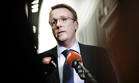 Former Danish justice minister assaulted
