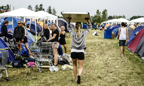 Finding 'the Orange Feeling' in Roskilde's campgrounds