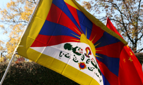 No further fine for Danish police in Tibet flag case