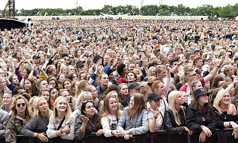 Young woman dies at Roskilde Festival
