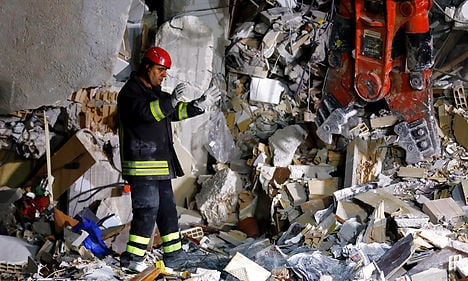 Denmark offers help to earthquake-hit Italy