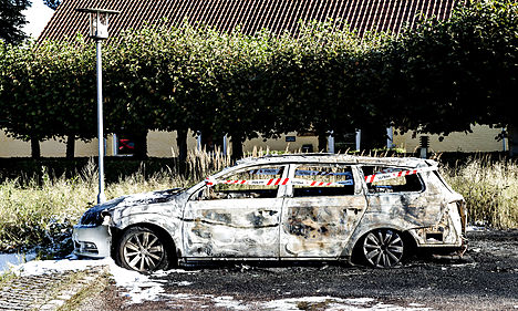 Eight more cars torched in Copenhagen