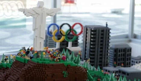 Lego builds model of Rio as Danish Olympic gift