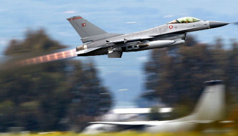 Danish jets have bombed Syria for the first time