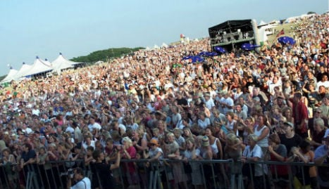 Three refugees charged for groping at Danish festival