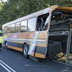 16 refugee kids hurt as bus hit by lorry in northern Denmark