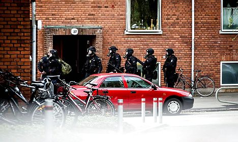 Man pleads not guilty after explosives found in Aarhus