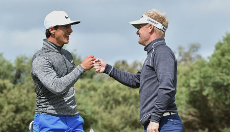 World Cup trophy in sight for dynamic Danish golf duo