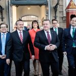 Here is Denmark's new coalition government