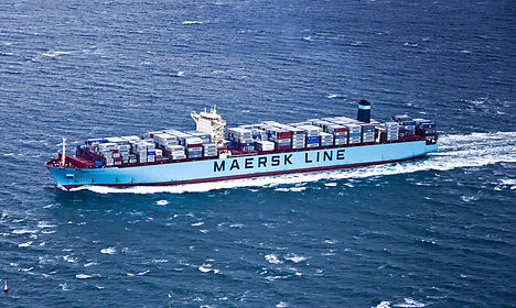 Shipping prices sink Maersk profit