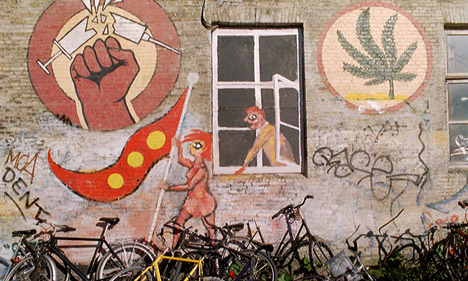 Police bust Hells Angels 'joint factory' in Christiania