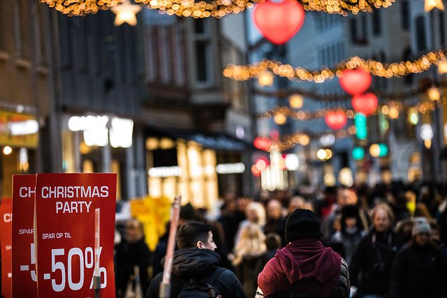 Here's how much Danes spent on Christmas