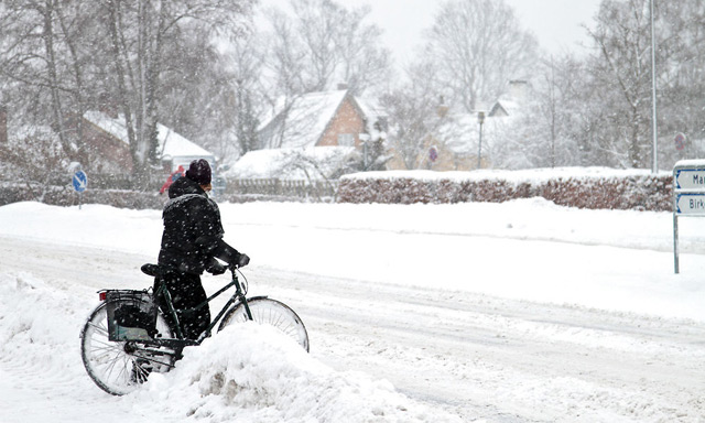 Will it be a White Christmas in Denmark?