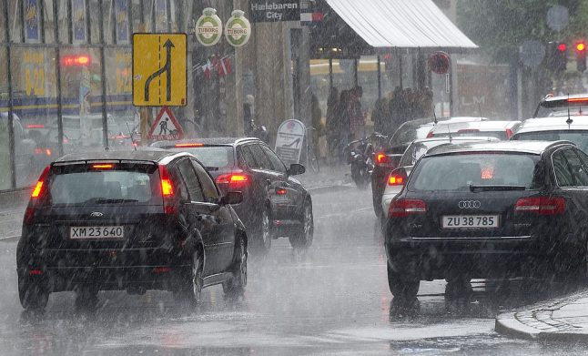 Think Danes only ride bikes? Think again. Record car sales for sixth year in a row.