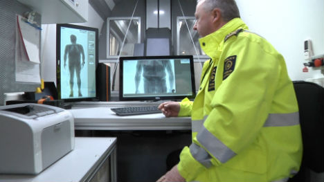 Denmark launches X-ray vans to hunt drug smugglers