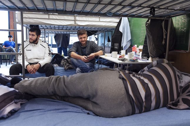 A record number of asylum seekers left Denmark voluntarily last year