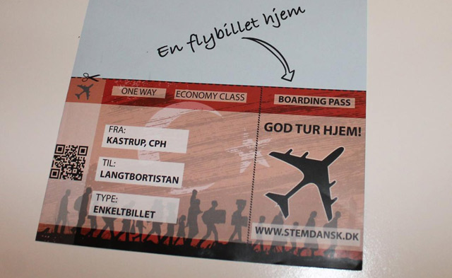 Danish nationalists slammed for distributing 'racist' flyers to residents' homes