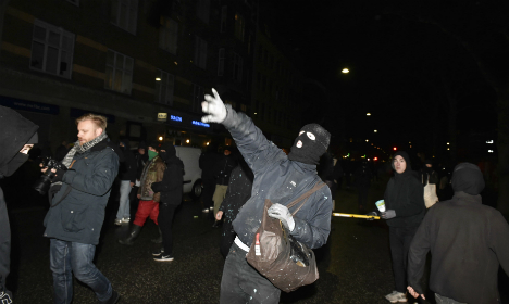 Clashes break out during Copenhagen 'youth house' demo