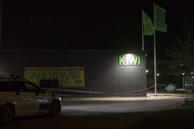 Three people detained after shooting at north Denmark supermarket