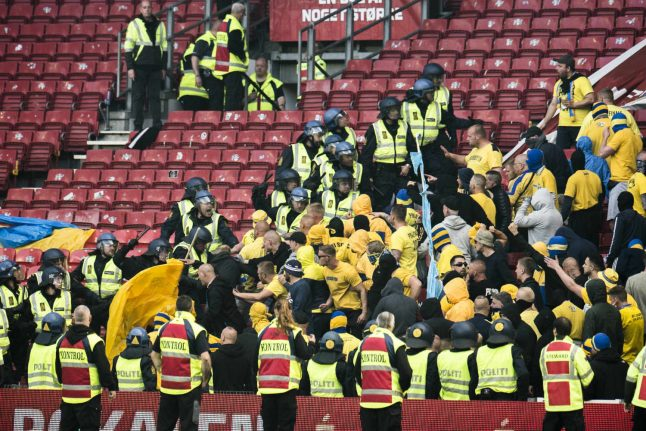 Worst fan violence 'since 2000' after Danish cup final