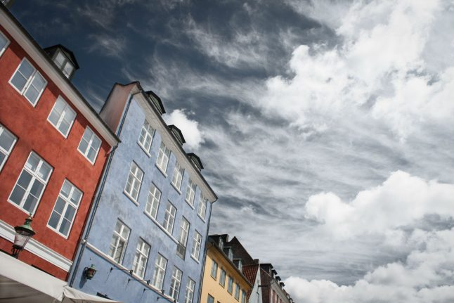 Autumnal weather to Denmark for start of June