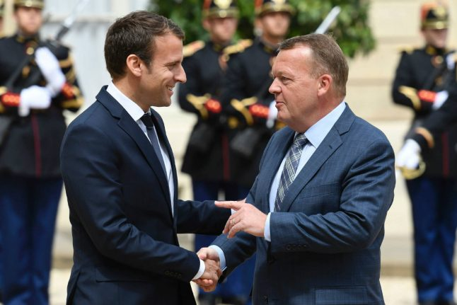 Denmark 'stands with Macron' on climate: PM