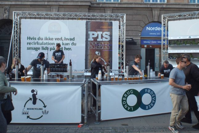 Denmark 'gives back to the people' with beer made using recycled urine