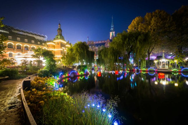 Iconic Copenhagen theme park to celebrate 175th birthday with winter opening