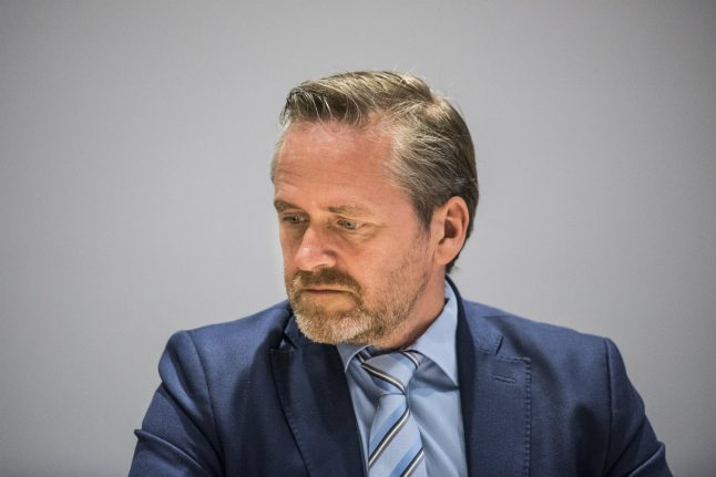 Danish foreign minister calls Trump tweet 'undignified and inappropriate'