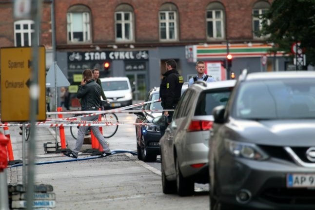 Nørrebro shots may have been fired at car: police