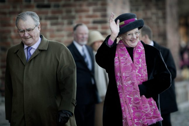 Denmark's Prince Henrik refuses to be buried with queen