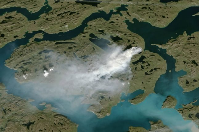 Wildfires hit Greenland after record temperatures
