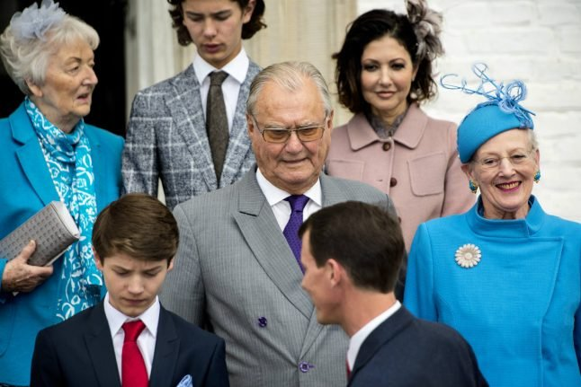 Queen 'making a fool of me' says Denmark's Prince Henrik