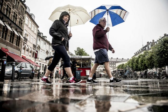 Denmark given accidental 'unrealistic' weather forecast