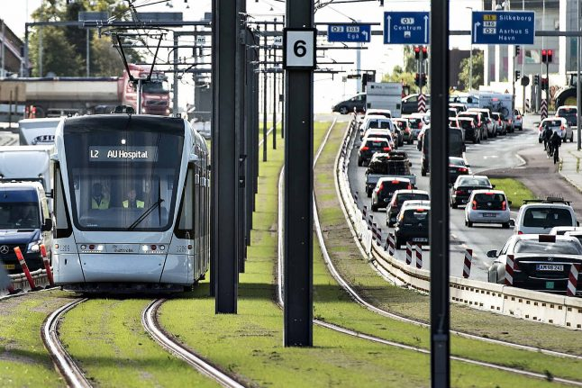 Aarhus light rail could open in 'near future' after embarrassing delay