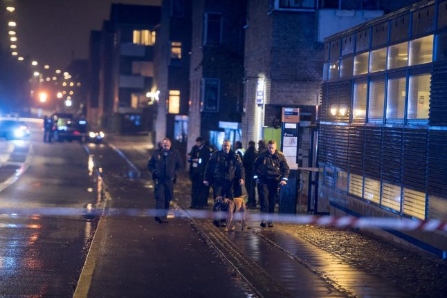 Two receive light injuries in 'gang-related' Copenhagen shooting