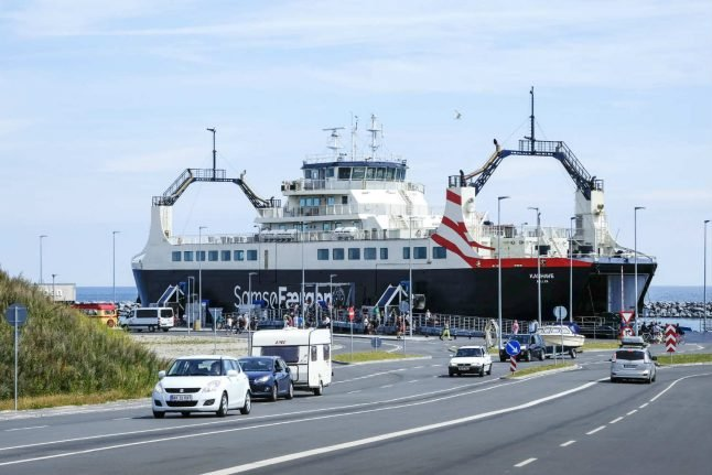 Diesel-powered Danish ferry refuelled with 6,000 litres of gasoline